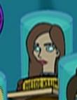 Heidi Klum's head