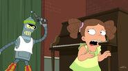 Bender chasing Tanya