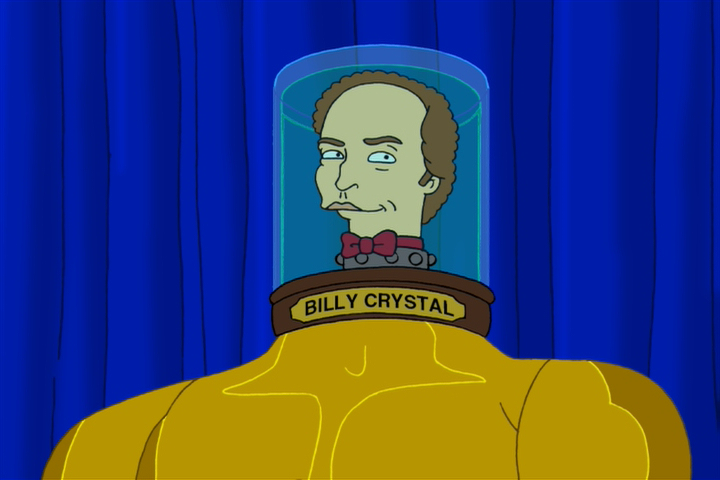 Billy Crystal's Head