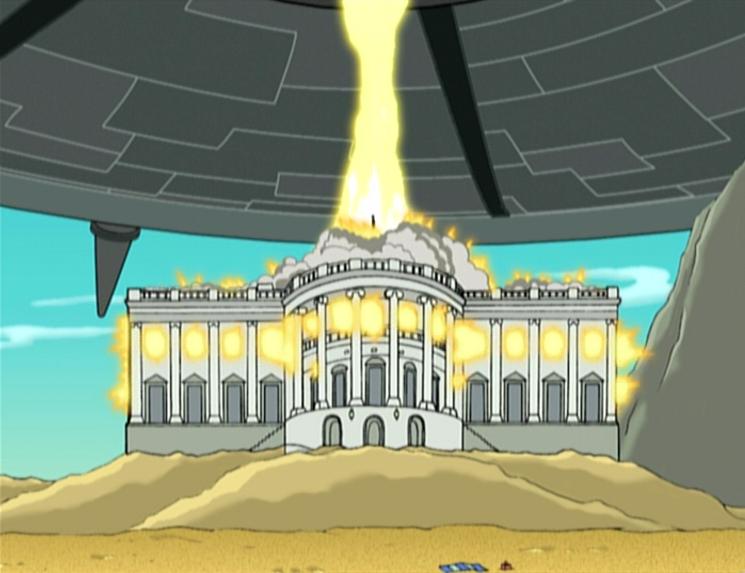 Monument Destroying Laser