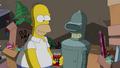 Happy Ending of Homer and Bender