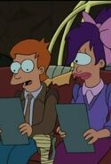 Teenage Fry and Leela