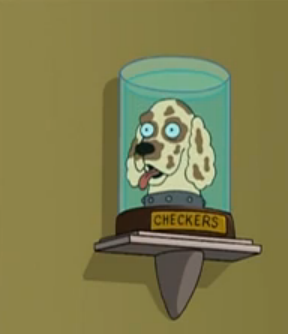 Checkers' head