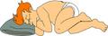 Fry Sleeping