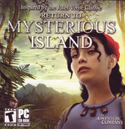 Return to Mysterious Island 2004 Game Cover