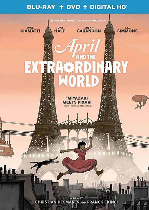 April and the Extraordinary World (2016)