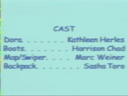 Dora the Explorer Episodes 8-9 2000 Credits 1