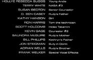SpaceCamp 1986 Credits