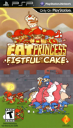 Fat Princess Fistful of Cake 2010 Game Cover