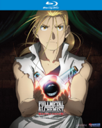 Fullmetal Alchemist Brotherhood Part Four 2011 Blu-Ray Cover