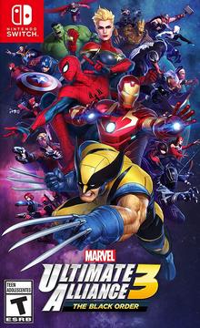 Marvel Ultimate Alliance 3 The Black Order 2019 Game Cover.PNG