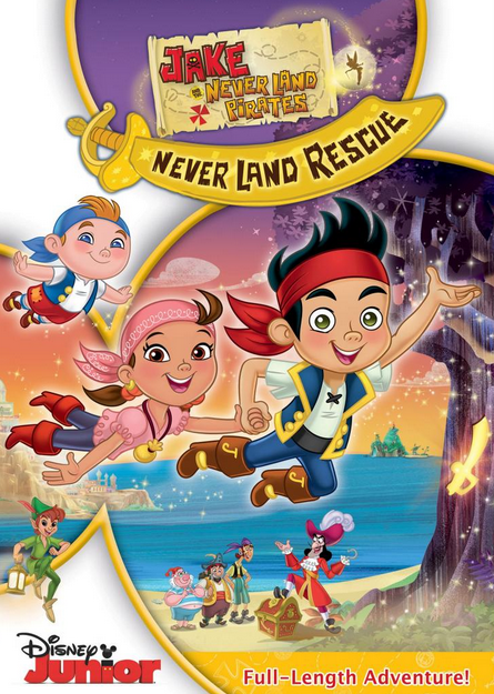 Disney Jake and the Never Land Pirates: Never Land Rescue (2013)