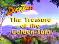 Disney's DuckTales The Treasure of the Golden Suns 1987 Title Card