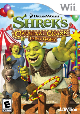 DreamWorks Shrek's Carnival Craze: Party Games (2008)
