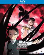 Fullmetal Alchemist Brotherhood Part Five 2011 Blu-Ray Cover