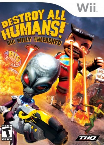 Destroy All Humans! Big Willy Unleashed (2008)