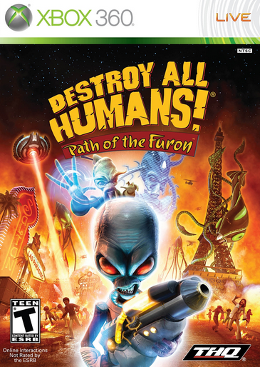 Destroy All Humans! Path of the Furon (2008)