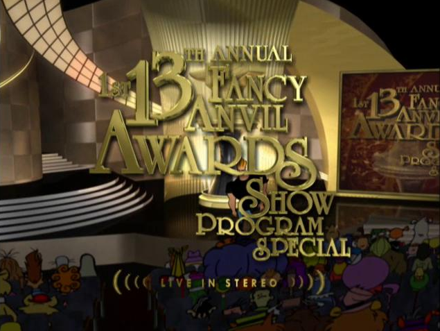 1st 13th Annual Fancy Anvil Awards Show Program Special (2002)
