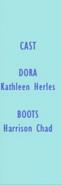 Dora the Explorer Episode 45 2003 Credits 1