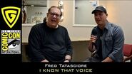 Fred Tatasciore - I Know That Voice - SDCC 2017 The Geek Generation