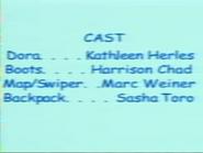 Dora the Explorer Episode 5 2000 Credits 1