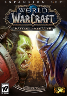 World of Warcraft Battle for Azeroth 2018 Game Cover.PNG