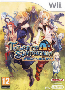 Tales of Symphonia Dawn of the New World 2008 Game Cover.PNG