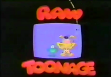 Disney's Raw Toonage 1992 Title Card.PNG