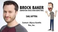 Brock Baker - Animation Voice Over Demo Reel