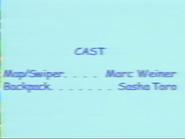 Dora the Explorer Episode 10 2000 Credits 2