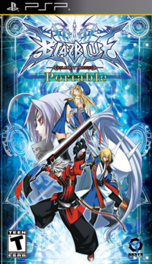 BlazBlue Calamity Trigger Portable 2010 Game Cover.PNG