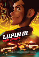 Lupin III The First 2020 Poster