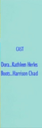 Dora the Explorer Episode 14 2000 Credits 1