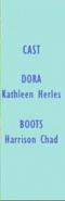 Dora the Explorer Episode 28 2002 Credits 1