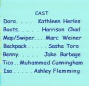 Dora the Explorer Episodes 1-2 2000 Credits