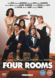 Four Rooms 1995 DVD Cover.png