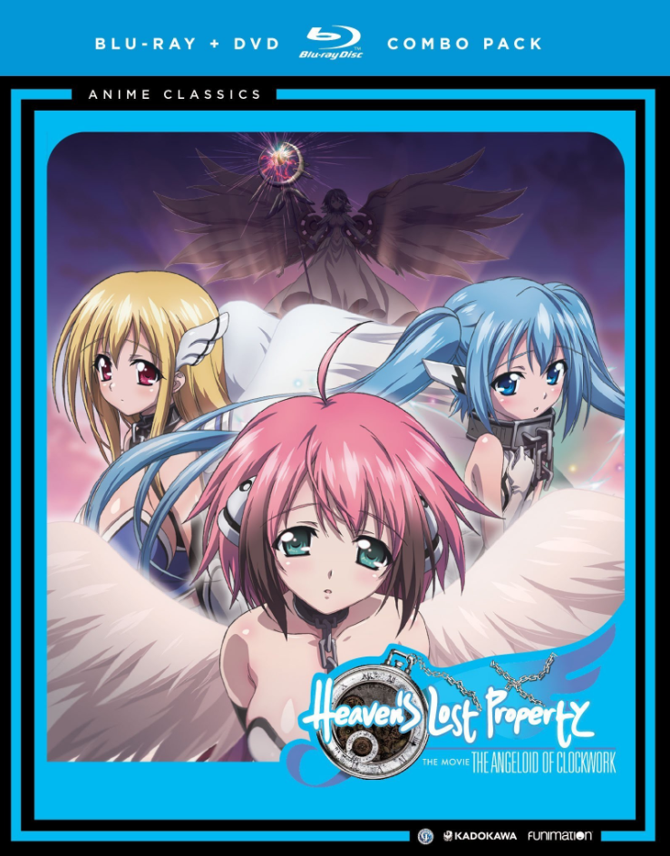 Heaven's Lost Property The Movie: The Angeloid of Clockwork (2013)