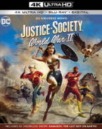 Justice Society World War II 2021 Blu-Ray Cover