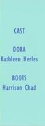 Dora the Explorer Episode 59 2003 Credits 1