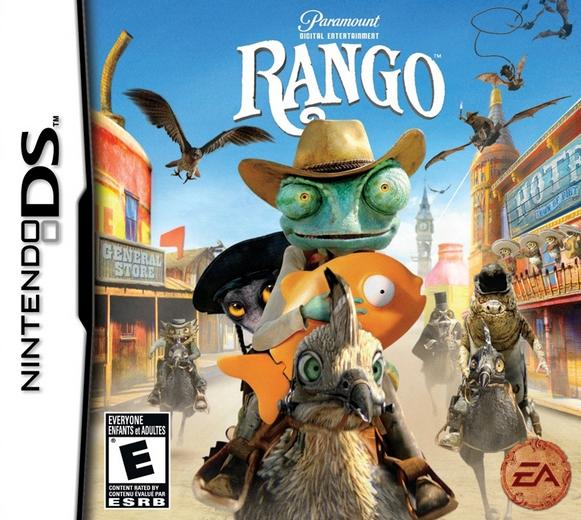 Rango 2011 Video Game English Voice Over Wikia Fandom