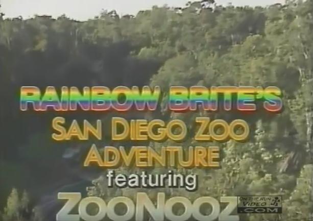 Rainbow Brite's San Diego Zoo Adventure featuring ZooNooz (1986)
