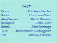 Dora the Explorer Episode 6 2000 Credits