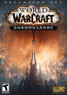 World of Warcraft Shadowlands 2020 Game Cover.png