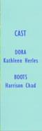 Dora the Explorer Episode 23 2001 Credits 1