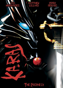 Karas The Prophecy 2006 DVD Cover.PNG