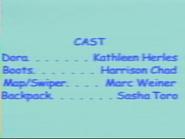Dora the Explorer Episode 7 2000 Credits 1