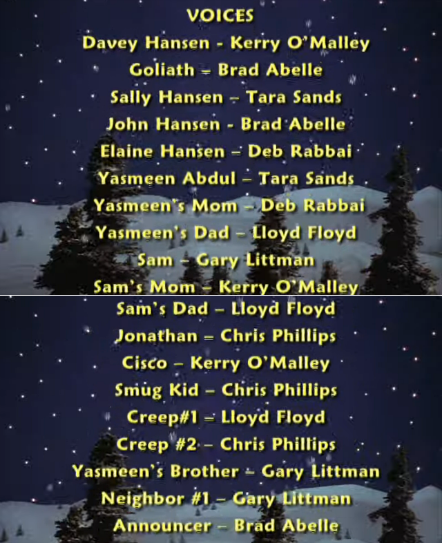 Davey and Goliath's Snowboard Christmas (2004)