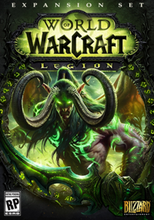 World of Warcraft Legion 2016 Game Cover.PNG