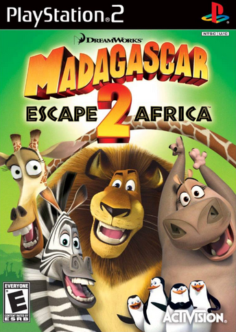 DreamWorks Madagascar: Escape 2 Africa (2008)