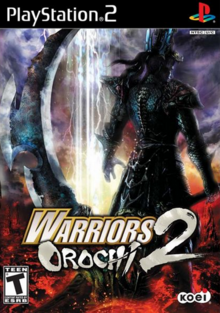 Warriors Orochi 2 2008 Game Cover.PNG